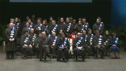 Collation des grades 2014 de la Faculté des sciences