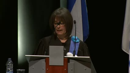 Attribution d'un doctorat honoris causa à Nicole Filion