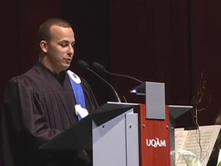 Attribution d'un doctorat honoris causa à Yannick Nézet-Séguin