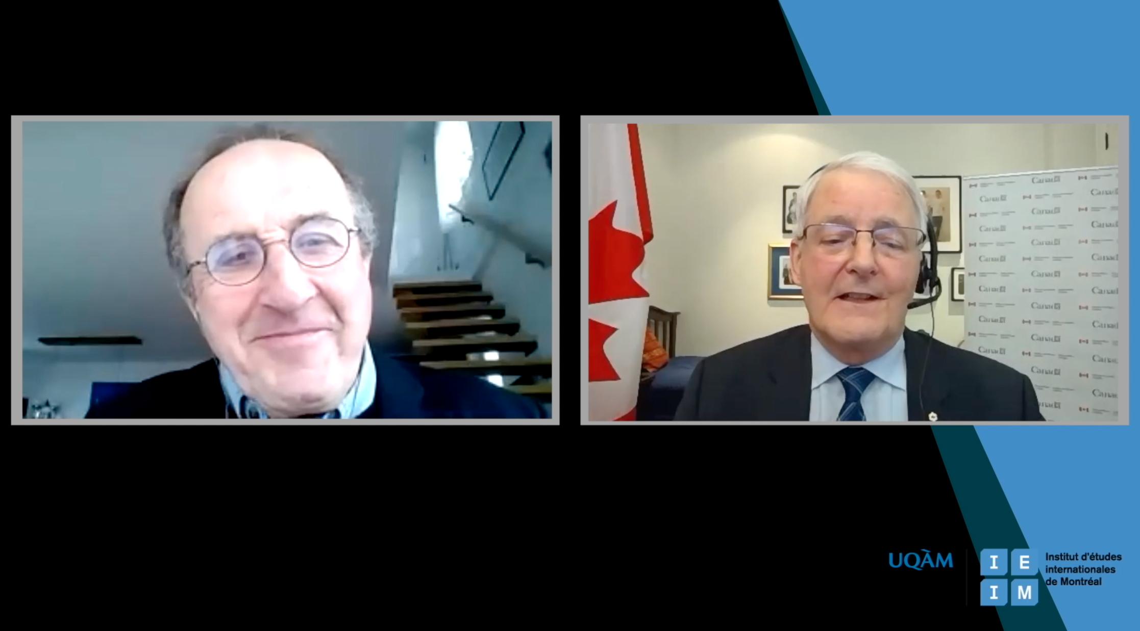 Les Entretiens de l'IEIM: «Quelles perspectives pour la politique étrangère du Canada?» avec Marc Garneau, ministre des Affaires étrangères du Canada