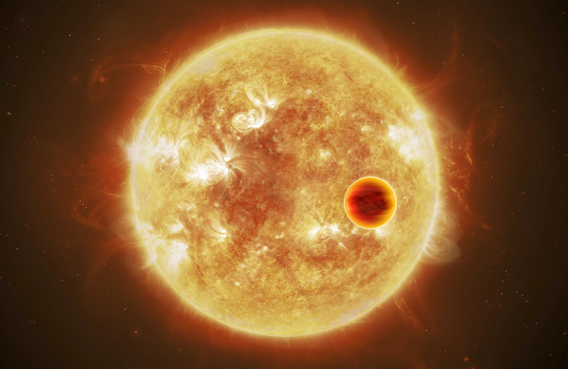 Conférence virtuelle: «Intrigantes exoplanètes»