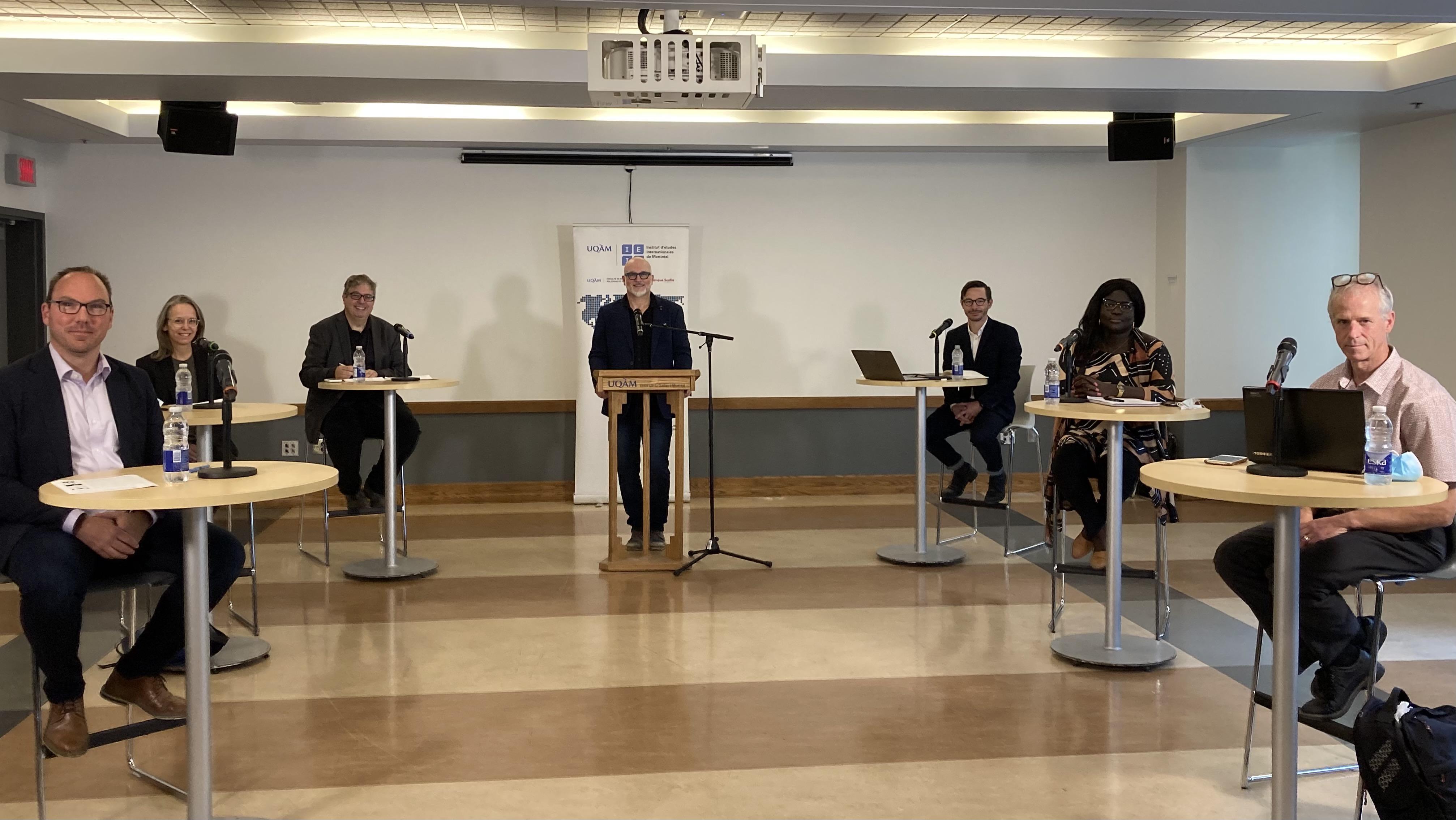 Table ronde: «5 défis de la politique internationale canadienne»