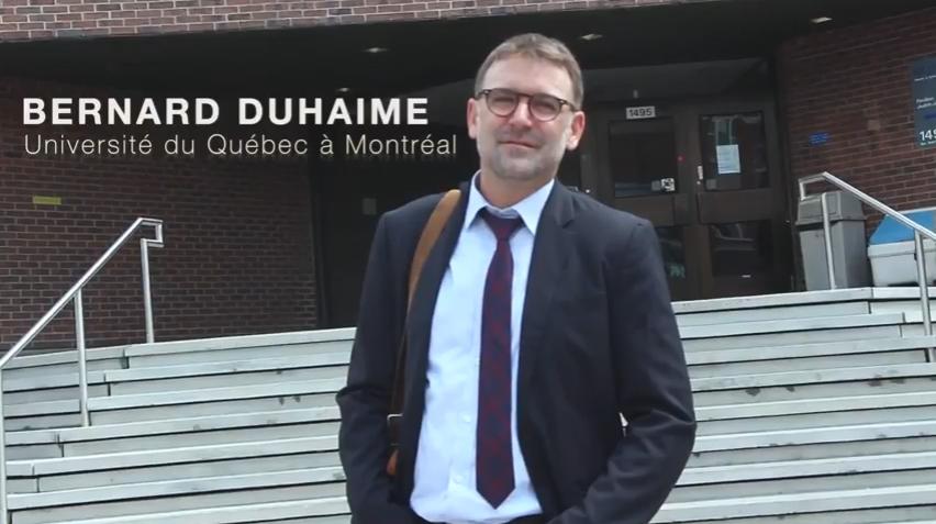 Bernard Duhaime, lauréat 2017 de la Fondation Pierre Elliott Trudeau