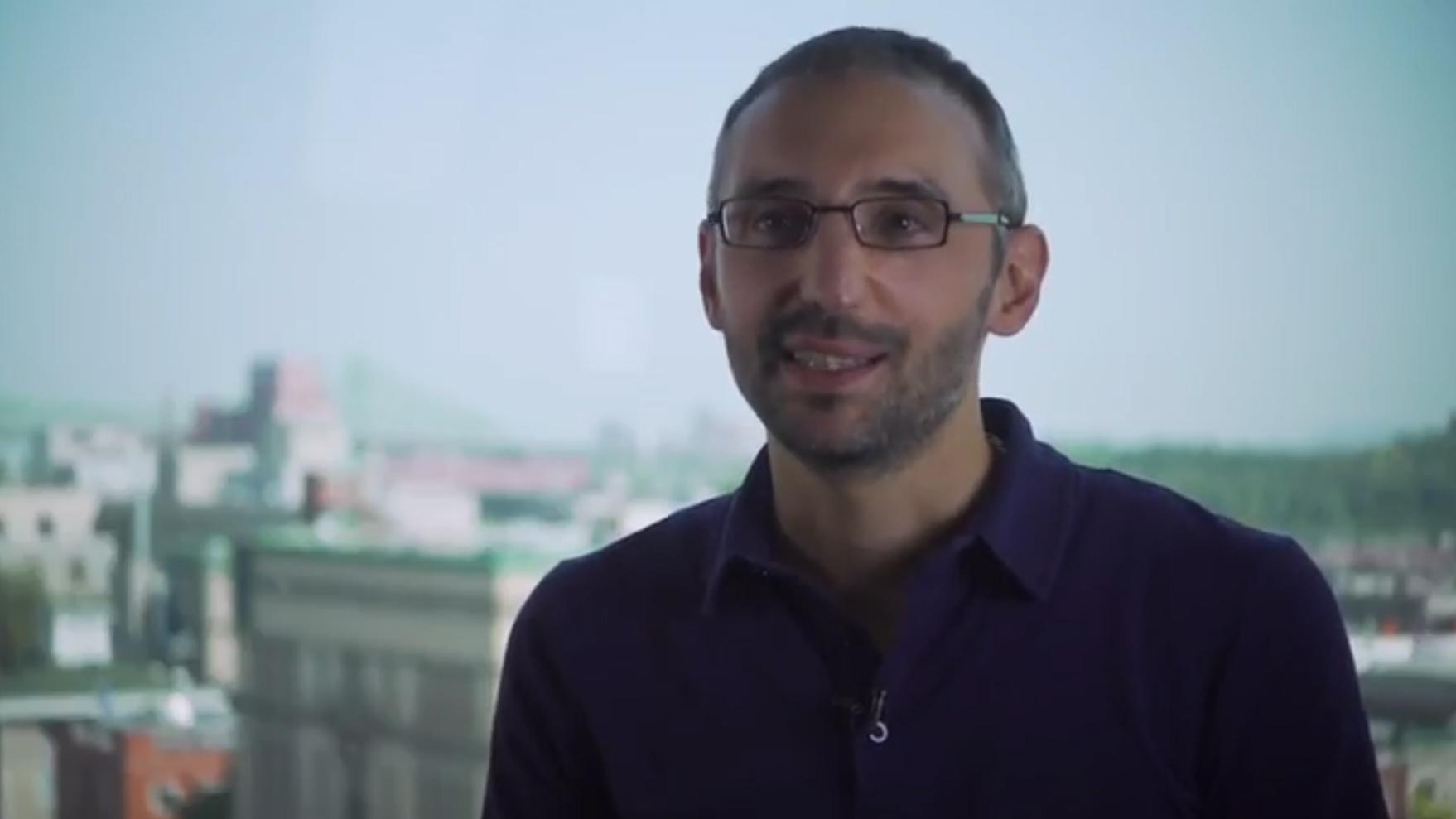 Simon Collin, membre du Collège de nouveaux chercheurs et créateurs en art et en science de la Société royale du Canada