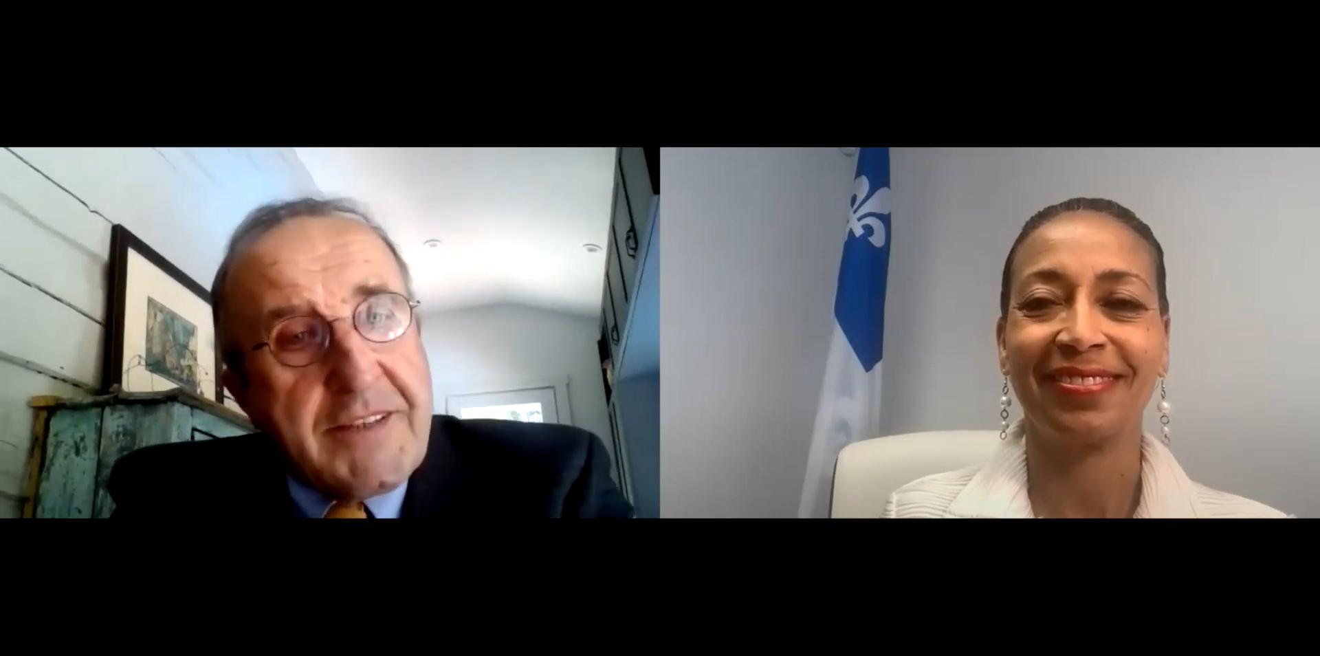 Les Entretiens de l'IEIM: «Pandémie, diplomatie, économie : la vision internationale du Québec à l'heure de la COVID-19»