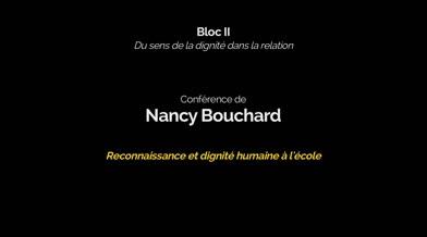 Conférence: «Reconnaissance et dignité humaine à l'école»