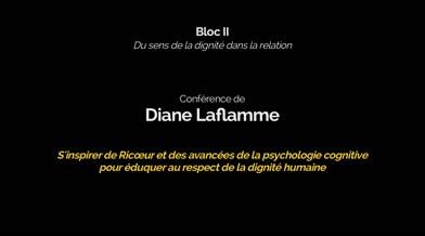Conférence: «S'inspirer de Ricoeur et des avancées de la psychologie cognitive pour éduquer au respect de la dignité humaine»