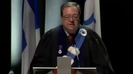 Allocution de Guy Berthiaume lors des collations des grades 2013